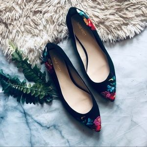Nine West Embroidered Flats (9)